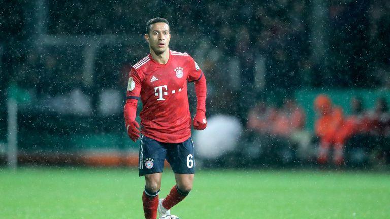 Thiago was injured against SV Rodinghausen