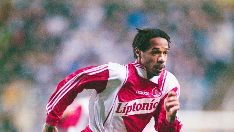 Henry began his playing career with Monaco