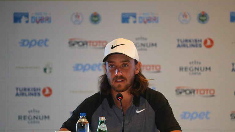 Fleetwood finished tied-23rd in the 2017 Turkish Airlines Open