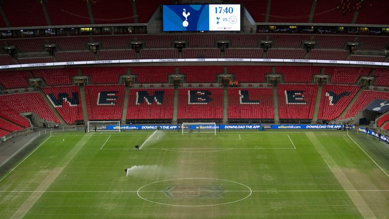 UEFA will test the Wembley playing surface the day before Tottenham host PSV