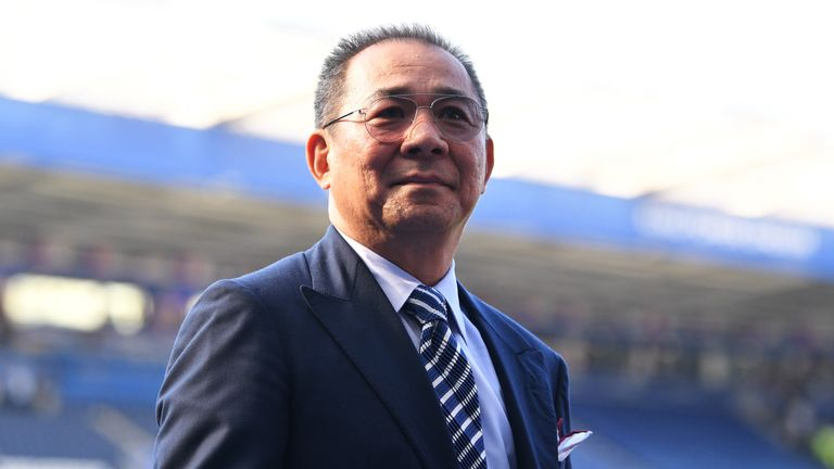 Srivaddhanaprabha and four others were killed in a helicopter accident outside the King Power Stadium