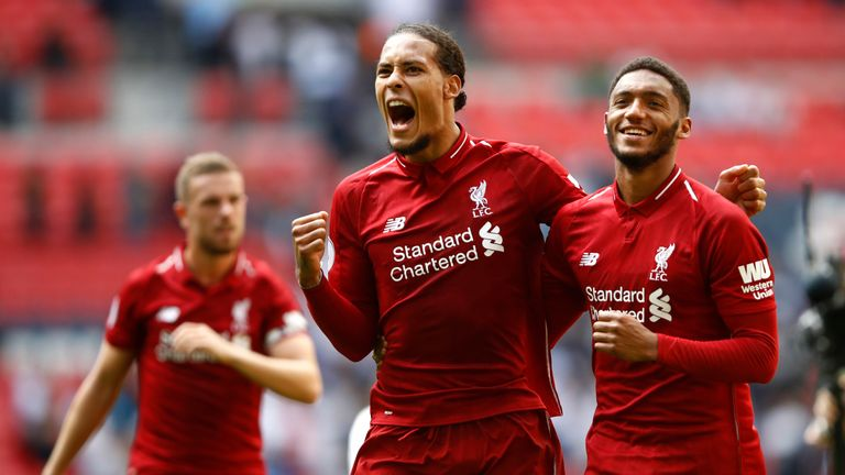 Van Dijk became the world's most expensive defender in January