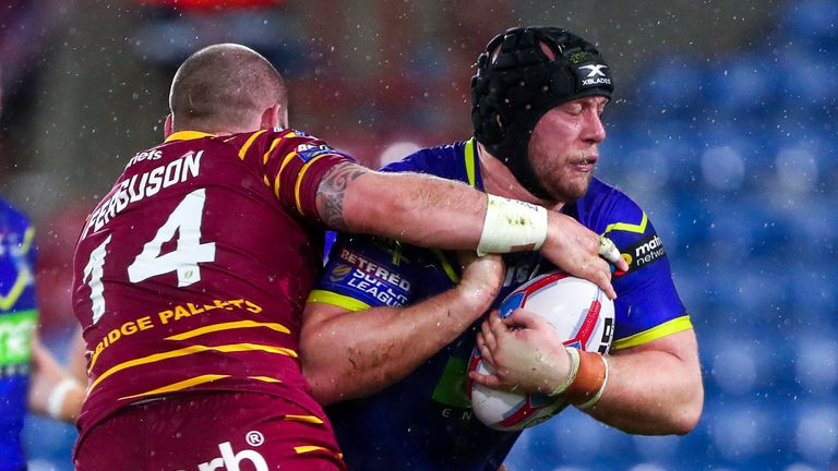 Chris Hill knows the size of the task facing Warrington in the Grand Final