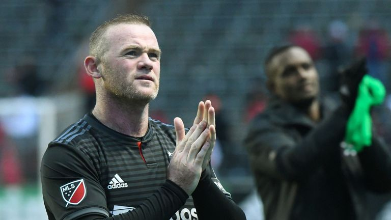 D.C. United's Wayne Rooney after the game against Chicago Fire at Bridgeview Stadium (USA Today/MLSsoccer)