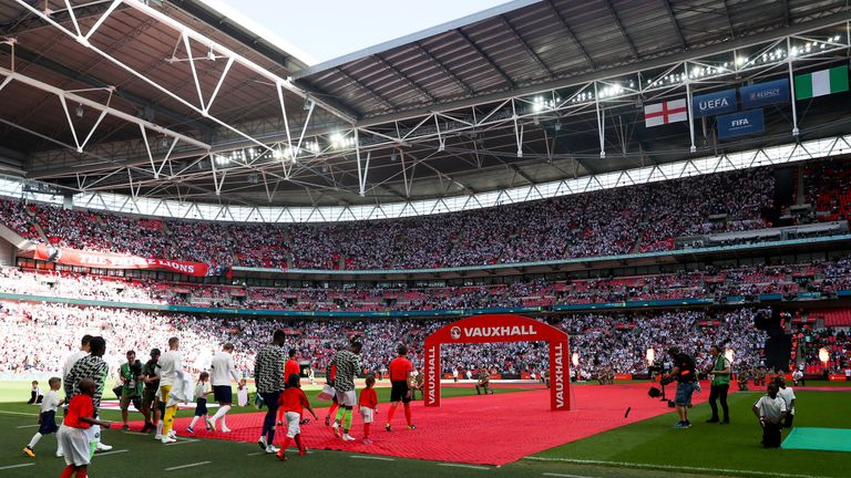 Wembley is the subject of £600m bid from Fulham owner Shahid Khan