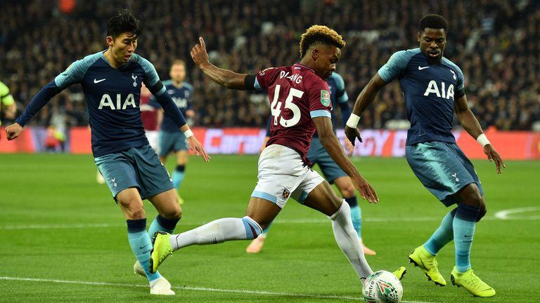 Grady Diangana impressed for West Ham on Wednesday