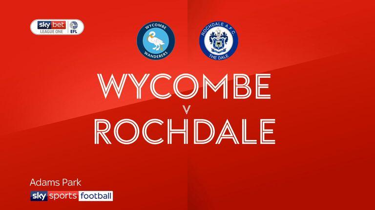 Wycombe v Rochdale
