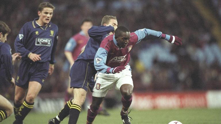 Yorke played nine seasons at Aston Villa