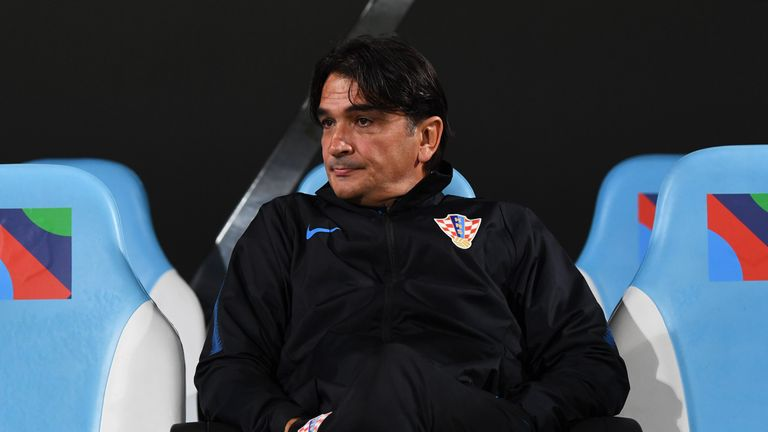 Zlatko Dalic led Croatia to the World Cup final in July