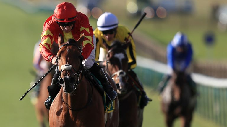 Joseph O'Brien's Iridessa takes Fillies' Mile