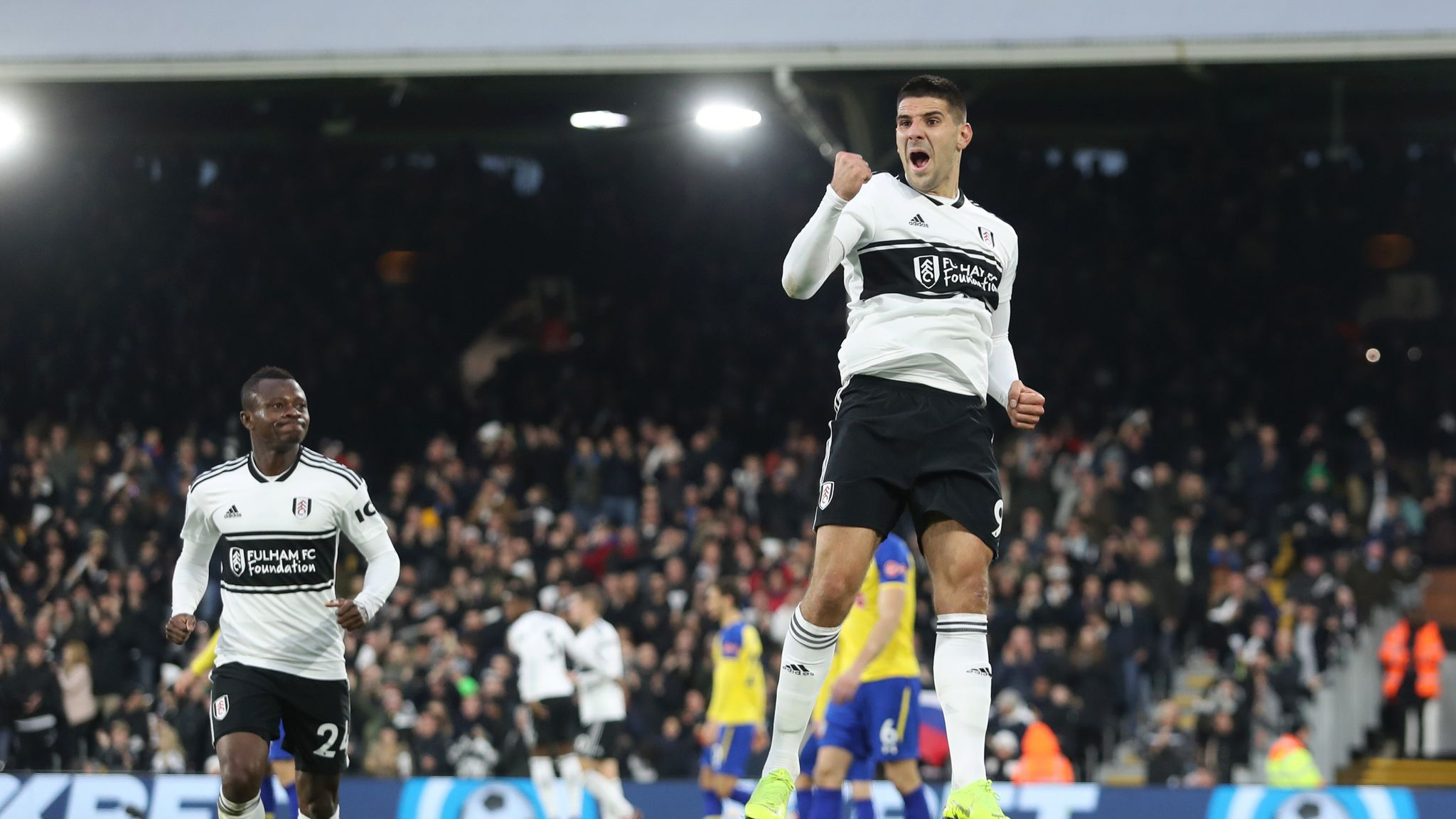 Aleksandar Mitrovic says he expects Fulham to improve in Premier League    Football News   Sky Sports