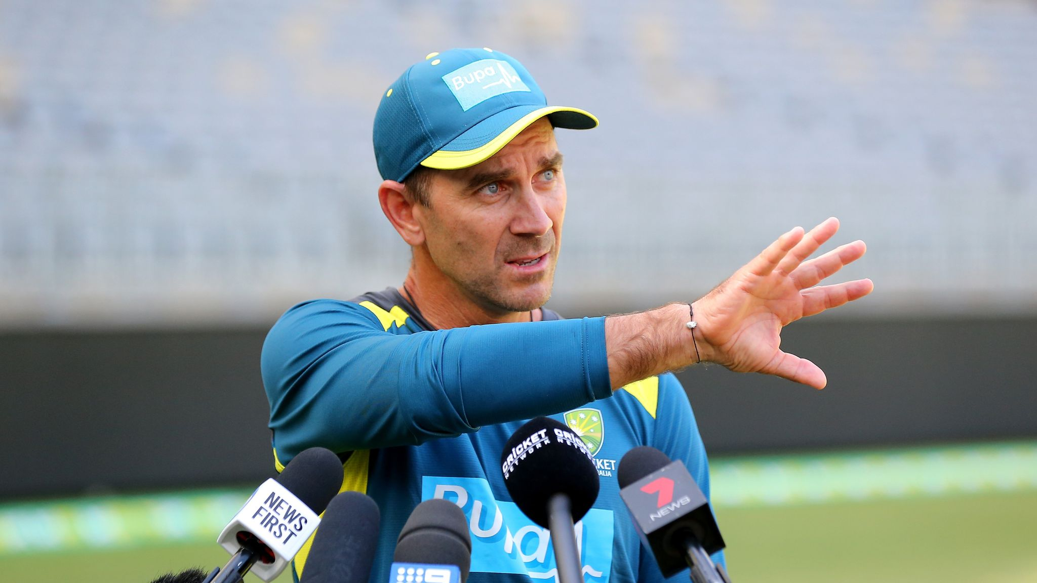 Justin Langer wants Australia to get people 'smiling' when they play South Africa   Cricket News   Sky Sports