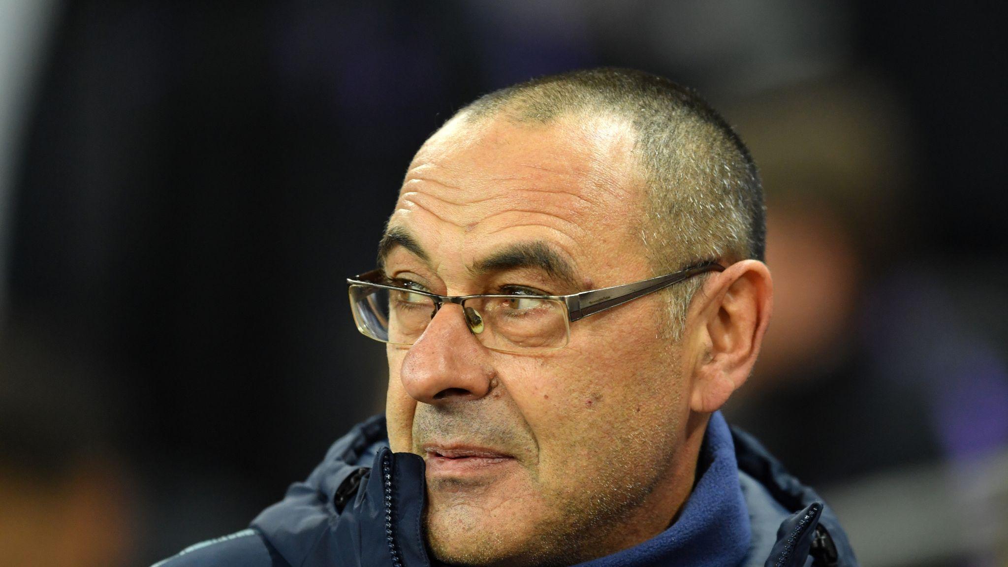 Maurizio Sarri says Chelsea character is 'strange' after