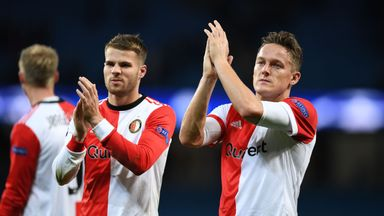 Jens Toornstra scored the only goal of the game as Feyenoord beat Groningen