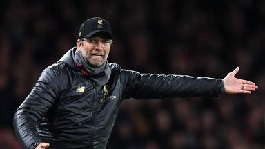 fifa live scores - Liverpool had bigger chances than Arsenal in Emirates stalemate, says Jurgen Klopp