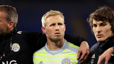 Puel: Schmeichel happy at Leicester