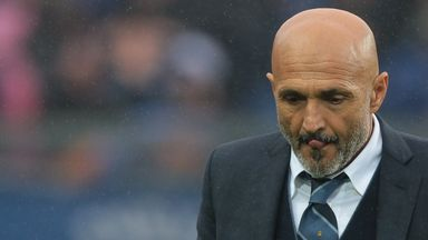 Luciano Spalletti's Inter Milan had an afternoon to forget