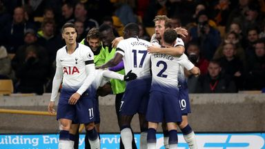fifa live scores - Wolves 2-3 Tottenham: Harry Kane scores first goal in four league games as hosts fall short of comeback