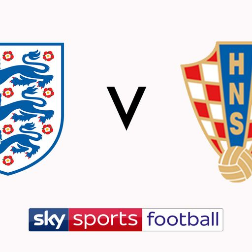Watch England vs Croatia on Sky Sports