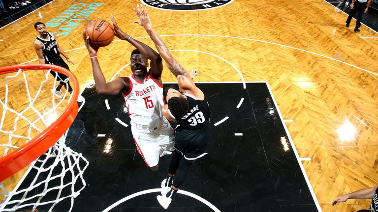 Clint Capela brings high percentage offense and defensive solidity to the Houston Rockets
