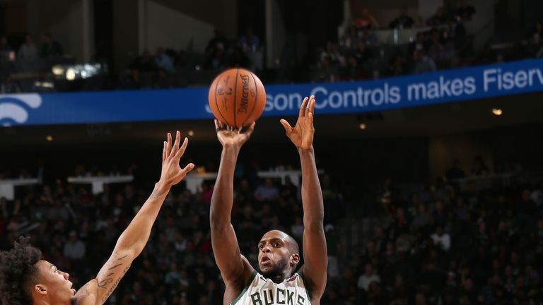 Three-point shooting volume has been key to the Bucks' dramatic improvement