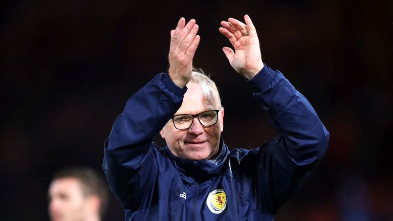 Scotland are up two places after victories against Albania and Israel