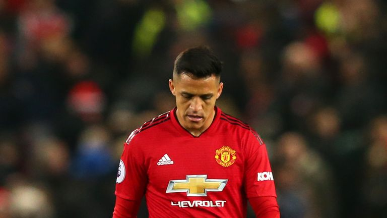 during the Premier League match between Manchester United and Crystal Palace at Old Trafford on November 24, 2018 in Manchester, United Kingdom.