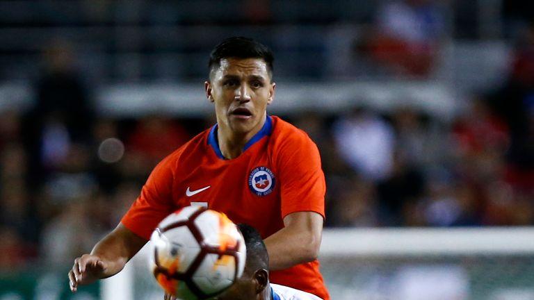 Alexis Sanchez Chile Honduras