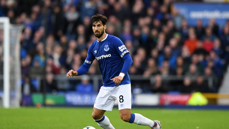 Gomes has made five starts for Everton this season