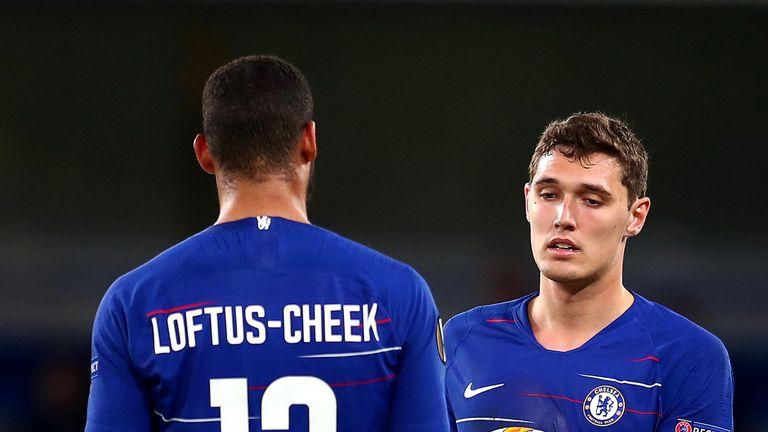 Like Loftus-Cheek, Andreas Christensen has had few opportunities