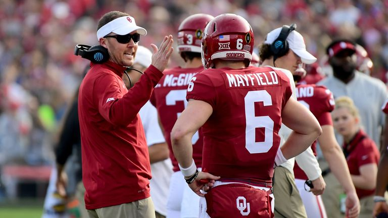 Lincoln Riley and Baker Mayfield had a lot of success together in college at Oklahoma