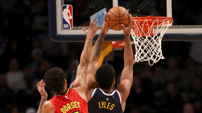 Denver Nuggets post season-high points total in rout of Atlanta Hawks   NBA News  