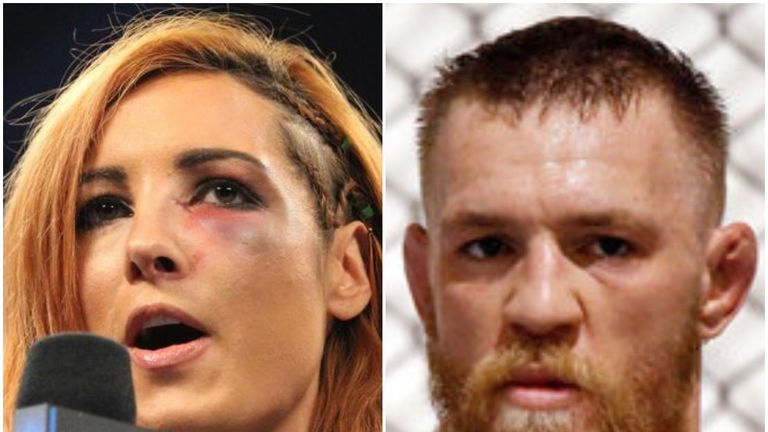 Conor McGregor has previously been a public supporter of WWE star Becky Lynch