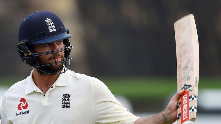 Ben Foakes is unbeaten on 87 overnight on his Test debut