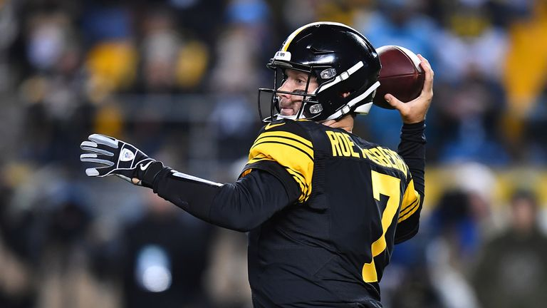 Ben Roethlisberger and the Steelers take on the Chargers in Week 13