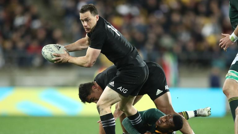 Smith has scored 33 tries for the All Blacks and won the 2015 World Cup