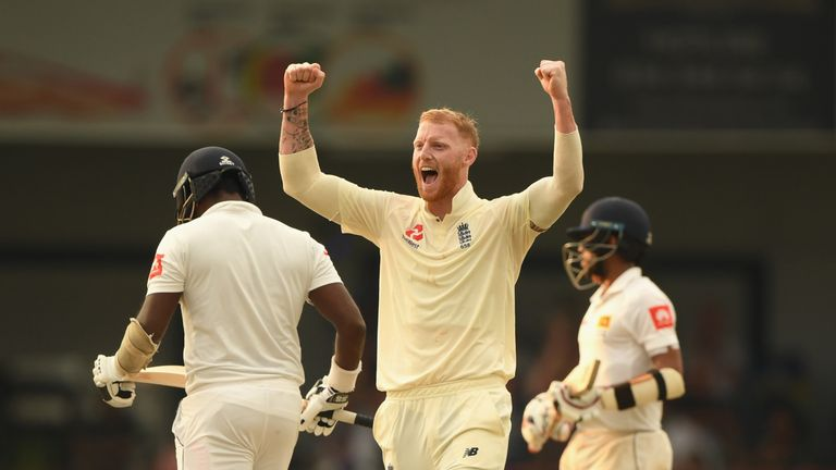 Stokes is eligible immediately for England having already served his ban