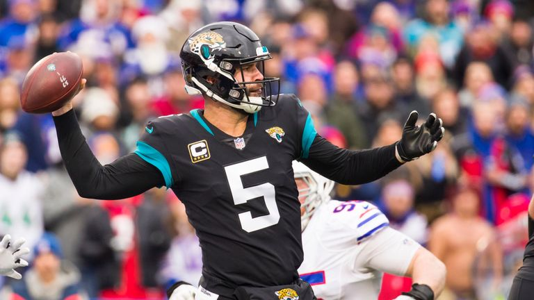 The Jaguars have parted ways with Blake Bortles