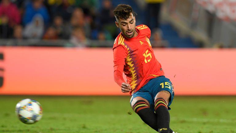 Mendez hits Spain's winner