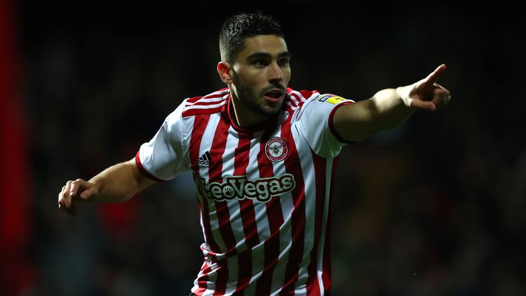 Neal Maupay had put Brentford ahead