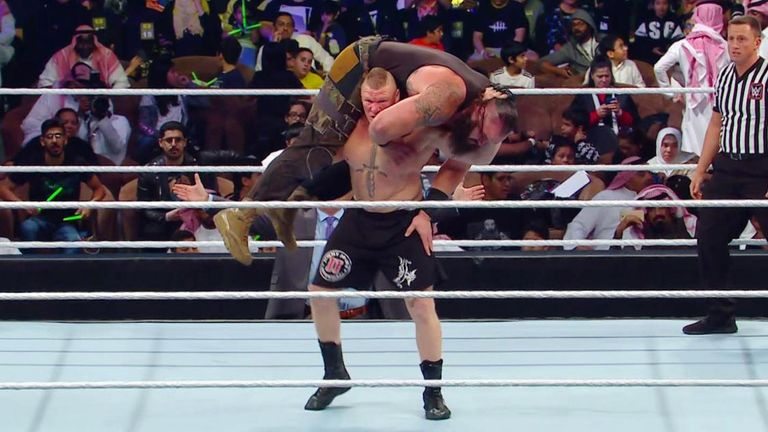 Few wrestlers have matches as formulaic as Lesnar