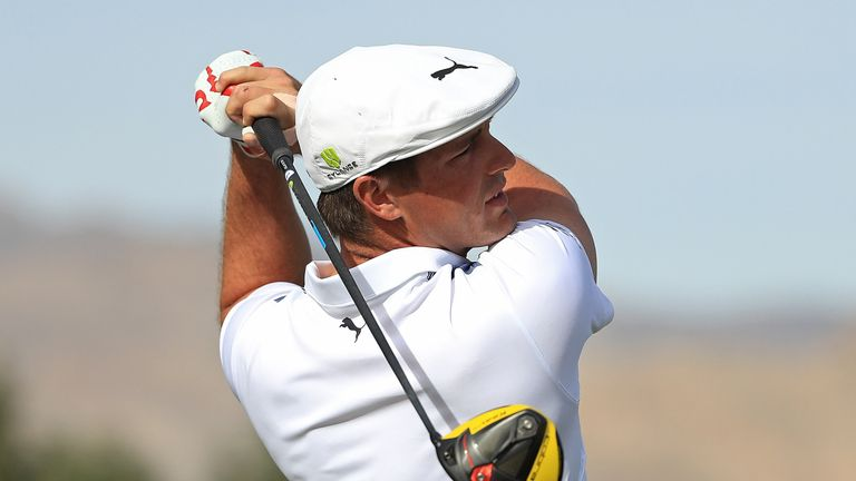 DeChambeau's win lifted him into the top five in the world rankings