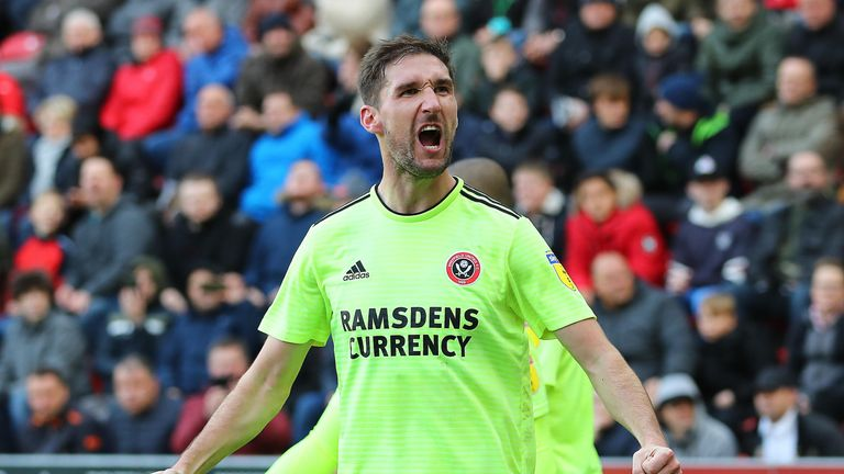 Chris Basham is missing for Sheffield United