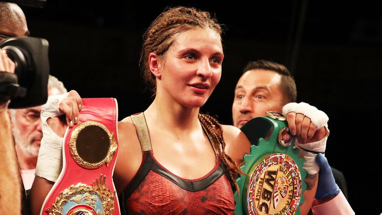 WBO champion Christina Hammer has 23 wins from 23 fights