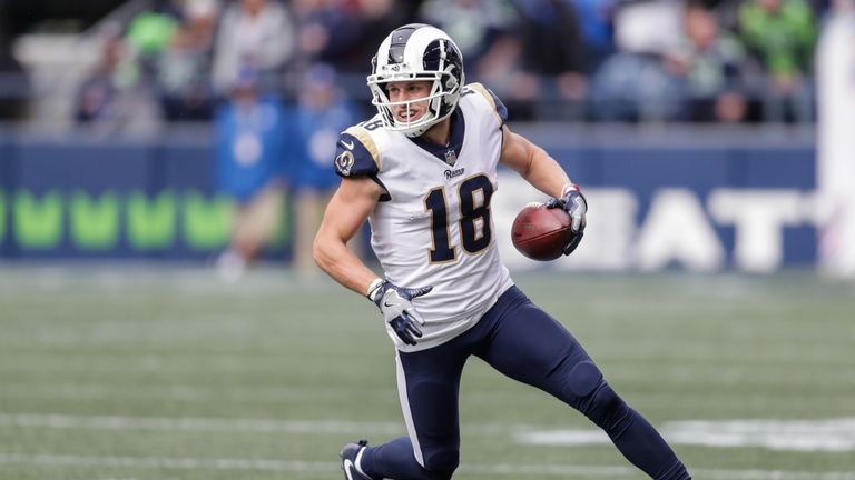 Rams receiver Cooper Kupp suffered a non-contact injury in a regular-season victory over the Seattle Seahawks