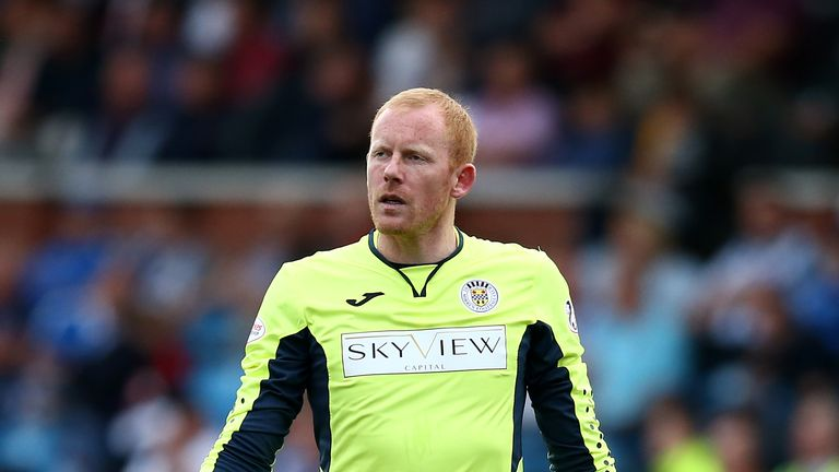 Craig Samson has made 17 appearances for St Mirren this season
