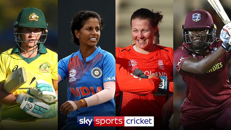 Women's World T20 semi-finalists