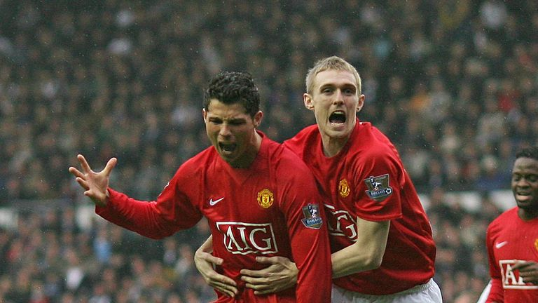 Fletcher and Ronaldo played in the same United team for six years
