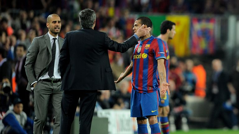 Dani Alves almost joined Jose Mourinho's Chelsea in 2007