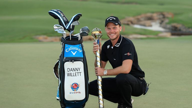 Danny Willett celebrated his first victory since the 2016 Masters in Dubai